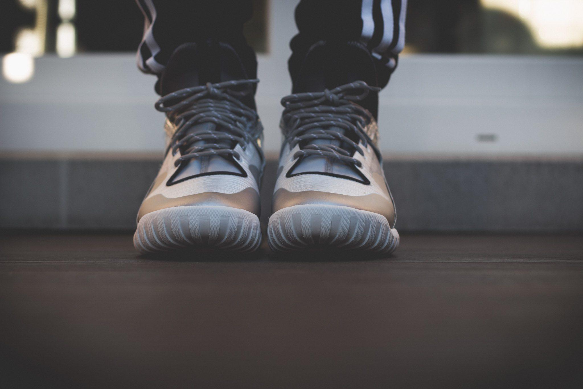 adidas Originals Tubular X Hype Silver 4
