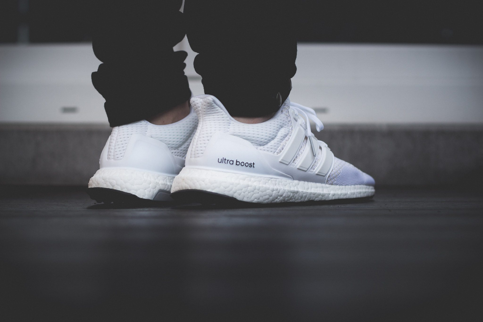 adidas Ultra Boost All White 10