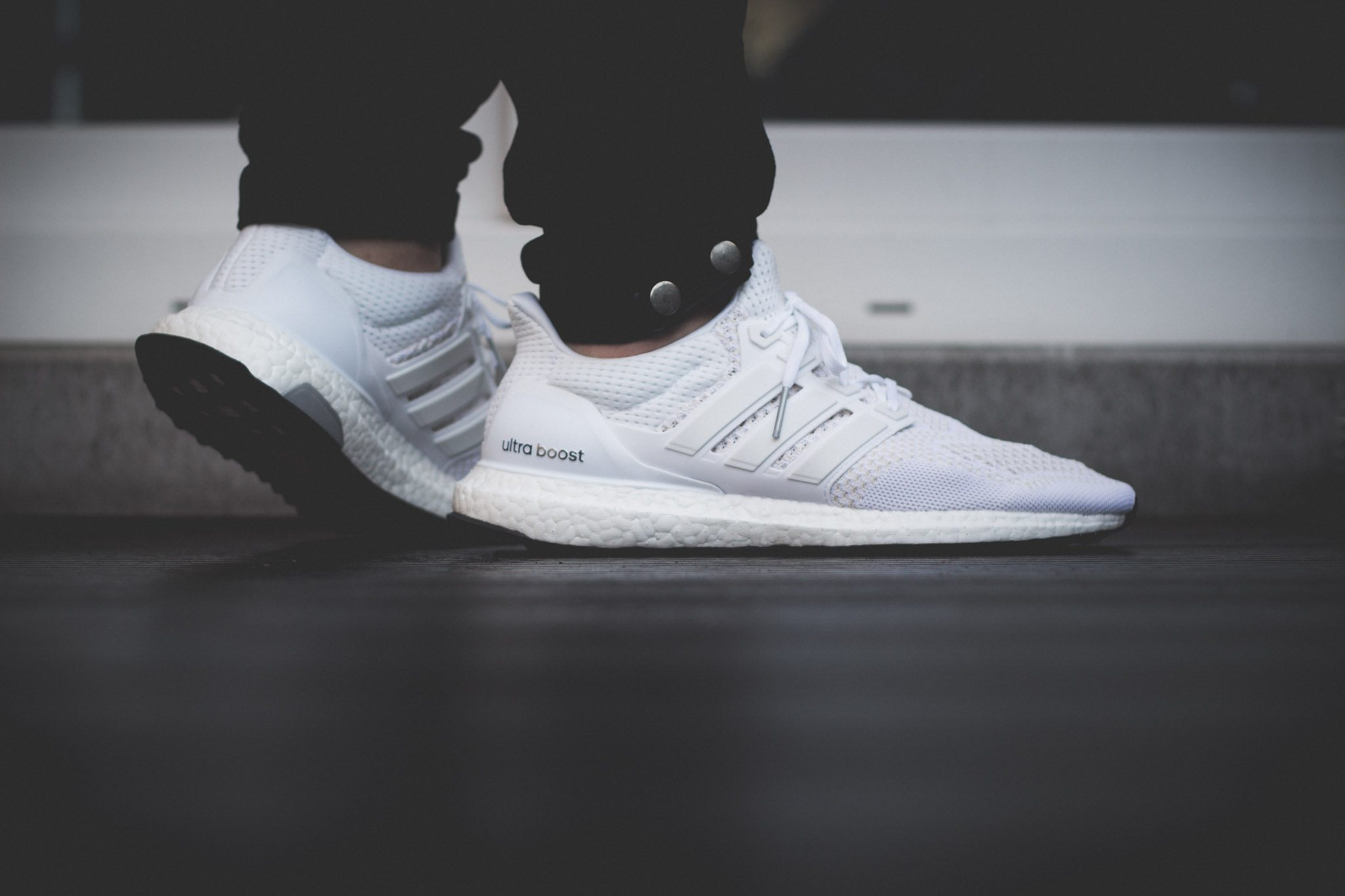 adidas Ultra Boost All White 12