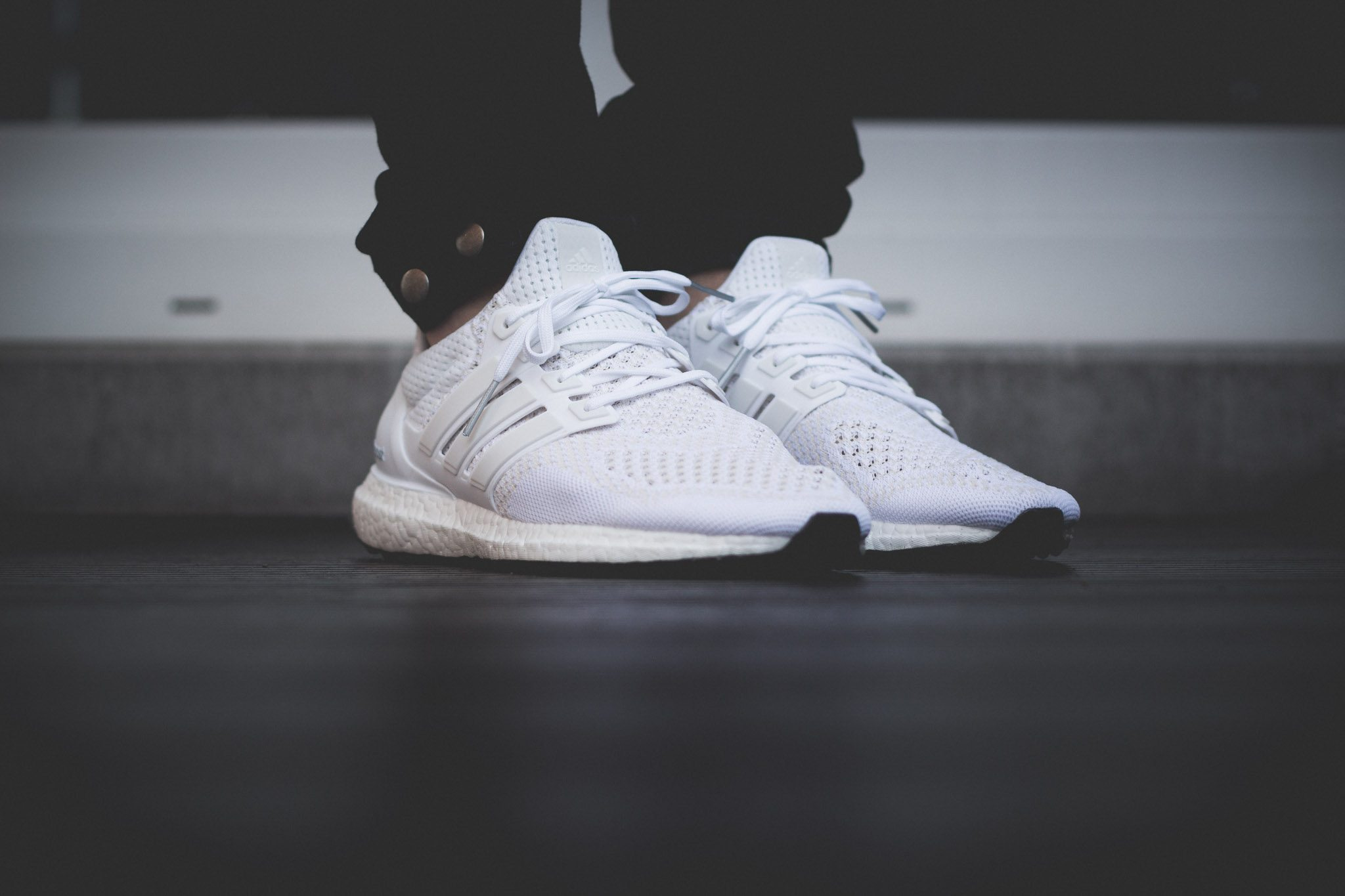 adidas Ultra Boost All White 3