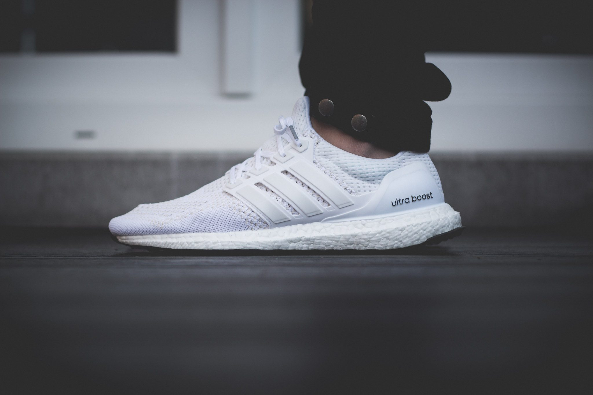 adidas Ultra Boost All White 7