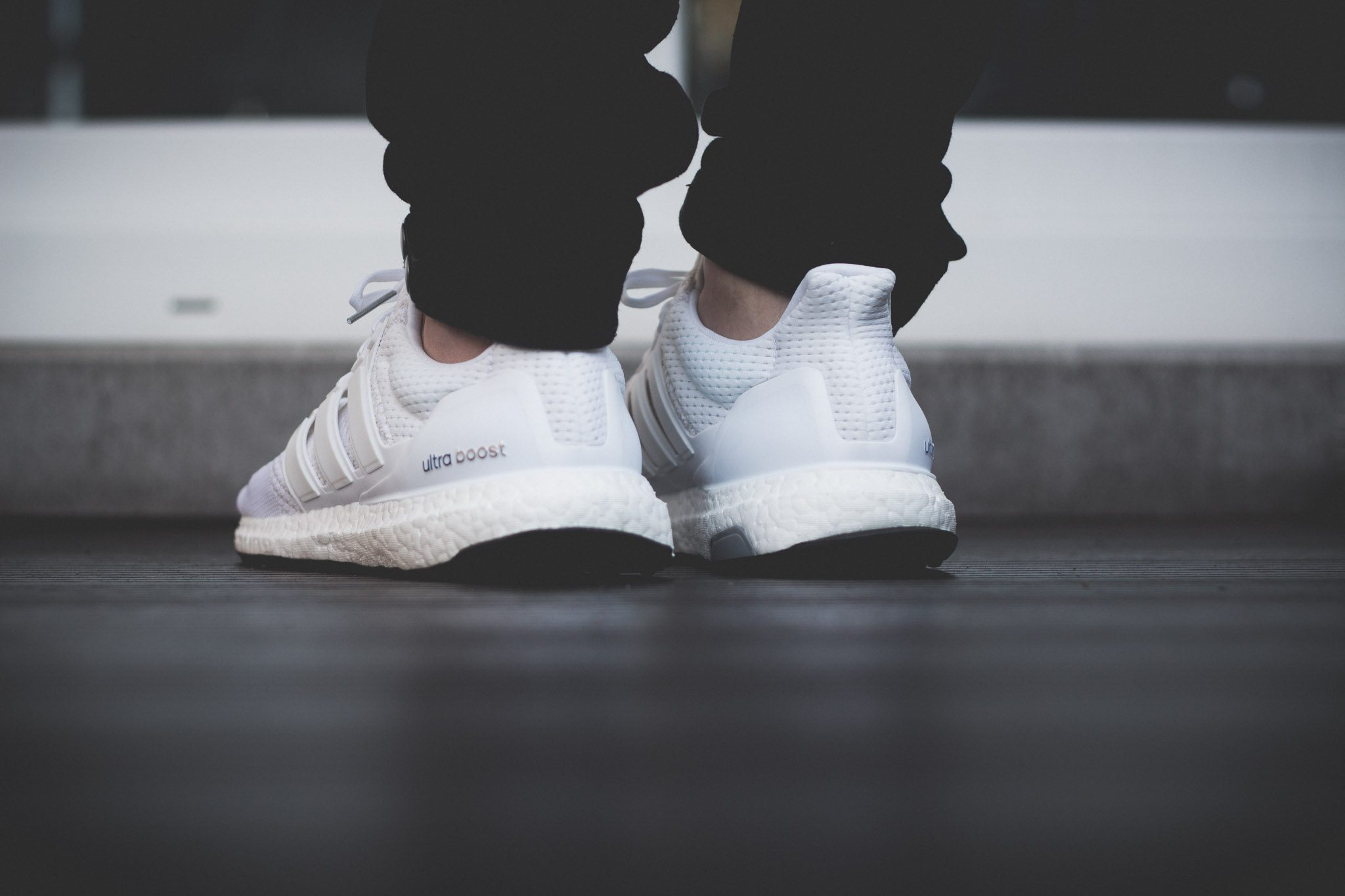 adidas Ultra Boost All White 9