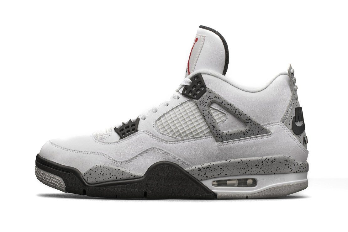 Air Jordan 4 Retro White Cement 1
