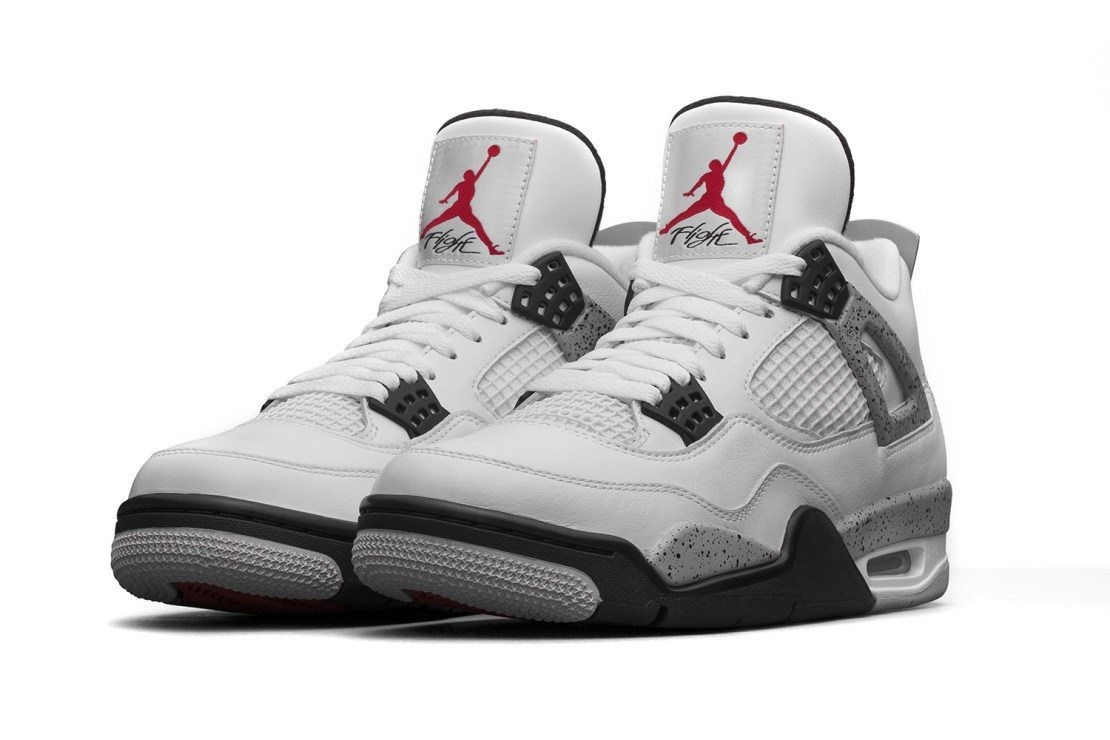 Air Jordan 4 Retro White Cement 2