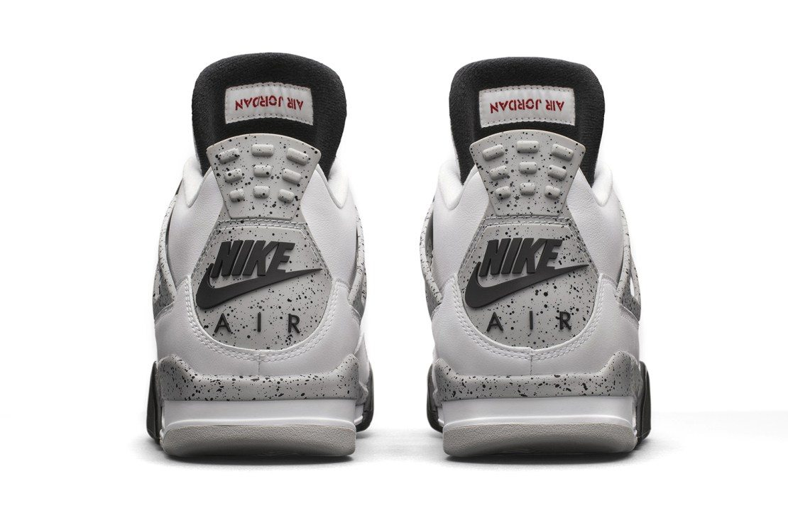Air Jordan 4 Retro White Cement 3