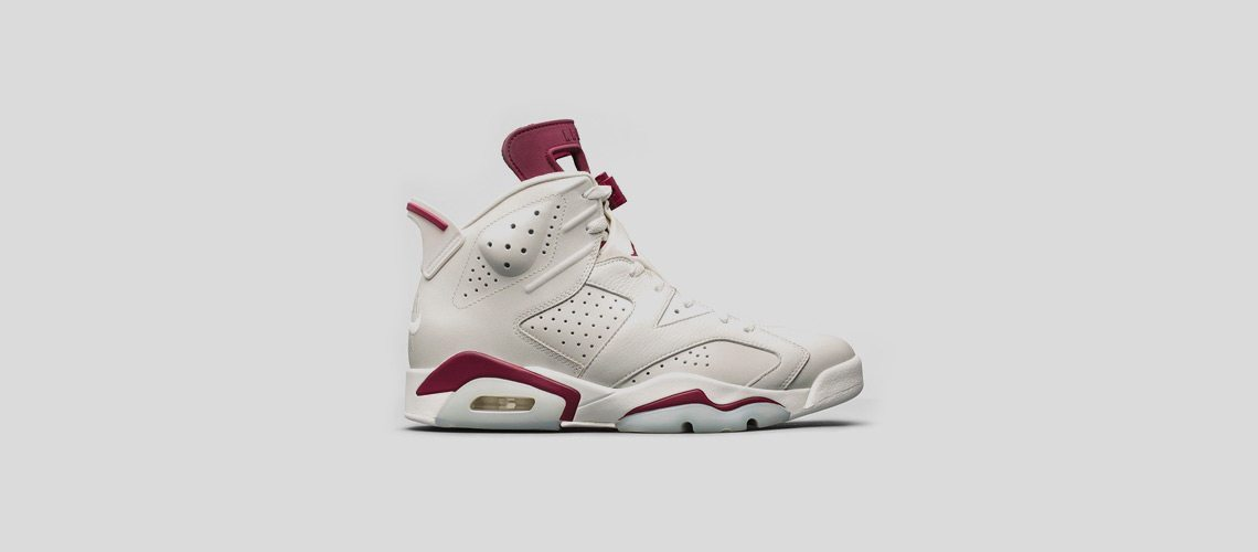 Air Jordan 6 Retro Maroon 11