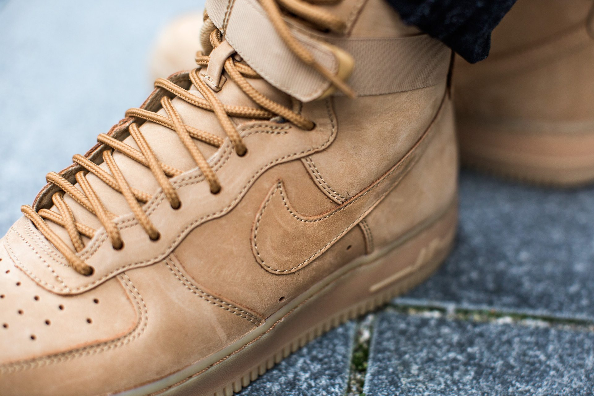 nike air force 1 high flax release infos snkr. Black Bedroom Furniture Sets. Home Design Ideas
