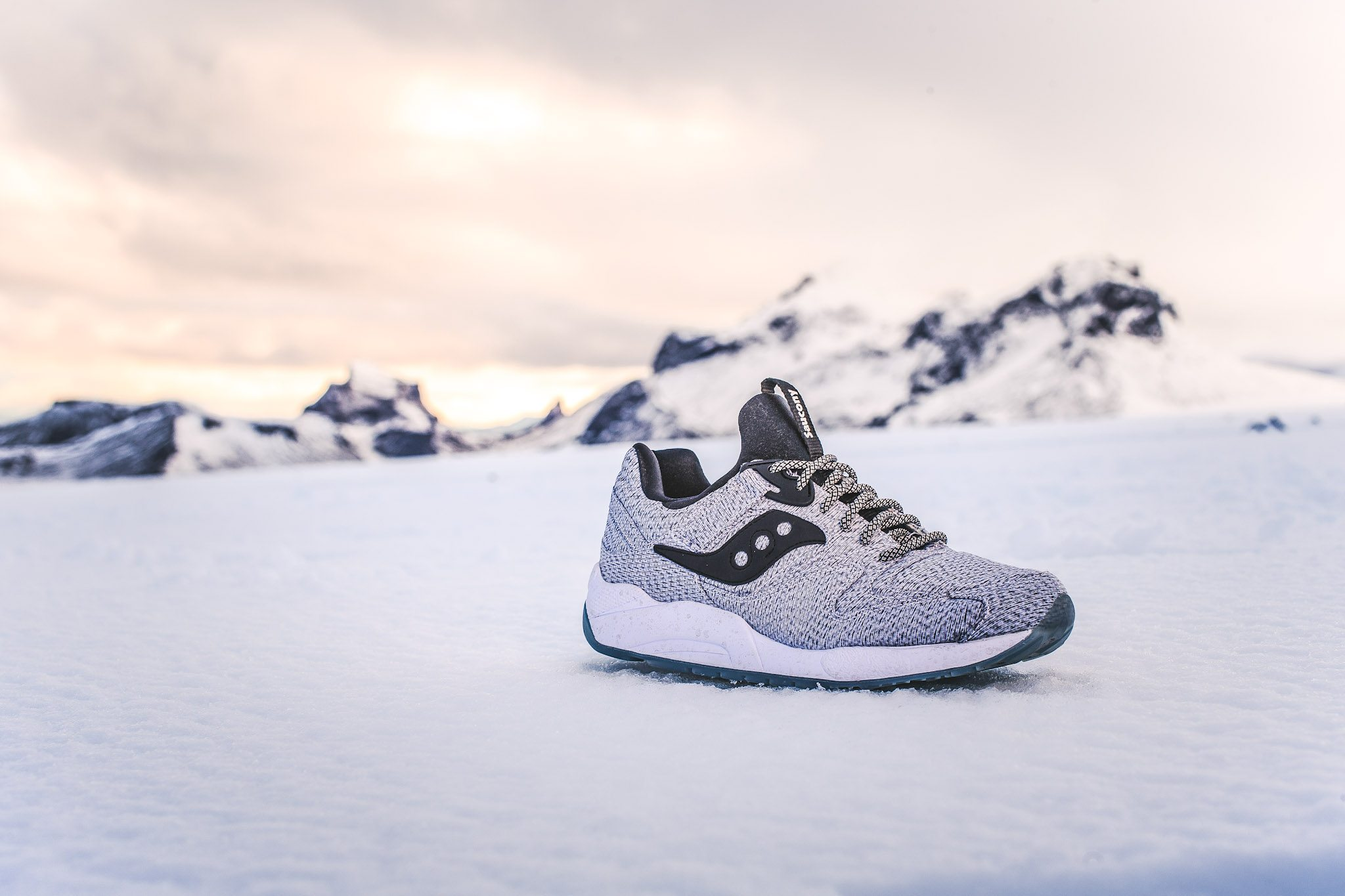 Saucony Grid 9000 Dirty Snow 1