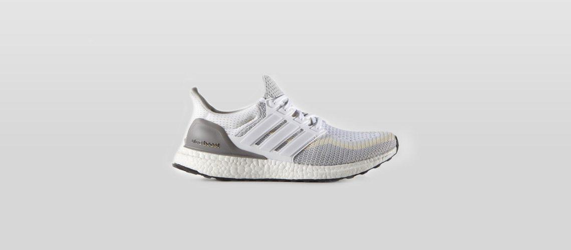 adidas Ultra Boost White Grey 1