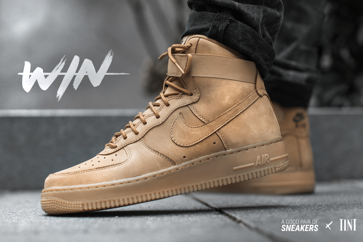 tint x agpos nike air force 1 high flax