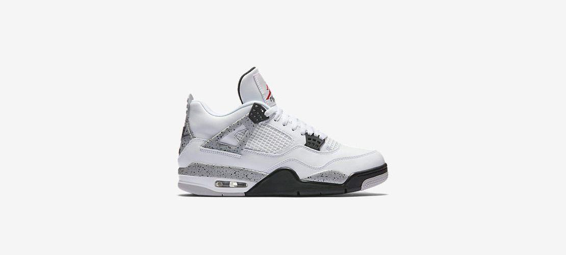 Air Jordan 4 Retro OG White Cement 1110x500