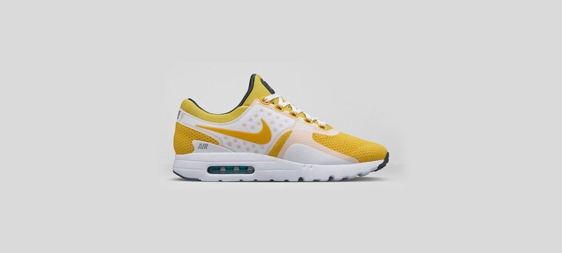 Nike Air Max Zero White Yellow 1110x500