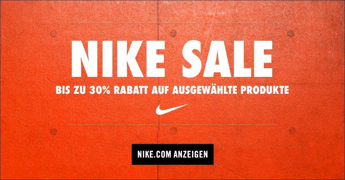 Nike Sale 20 Prozent extra Rabatt