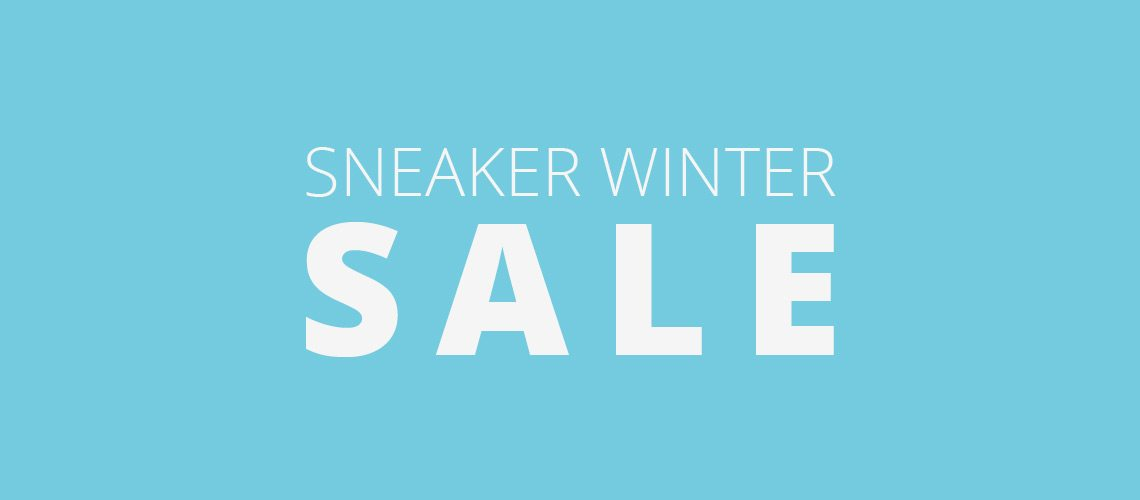 Sneaker Winter Sale