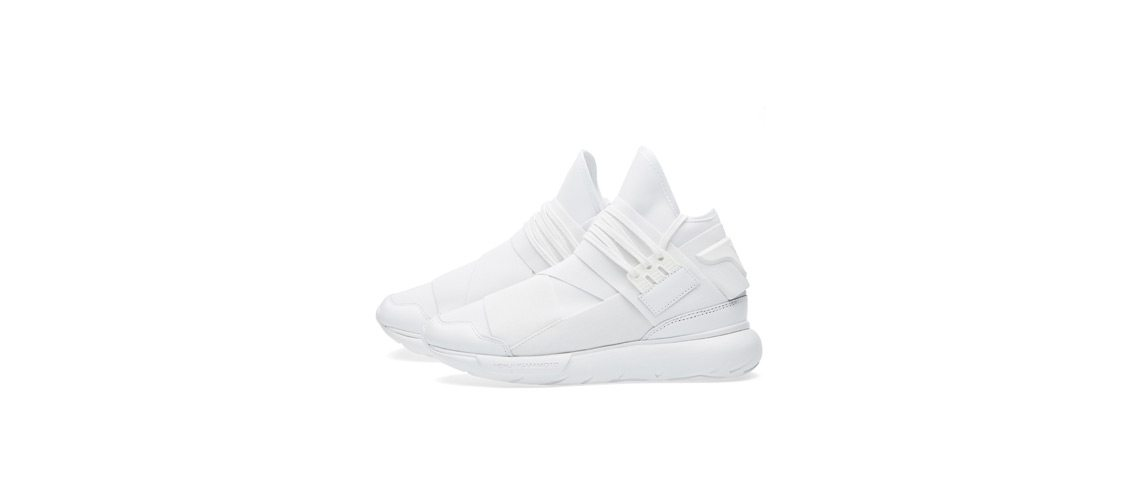 Y 3 Qasa High All White