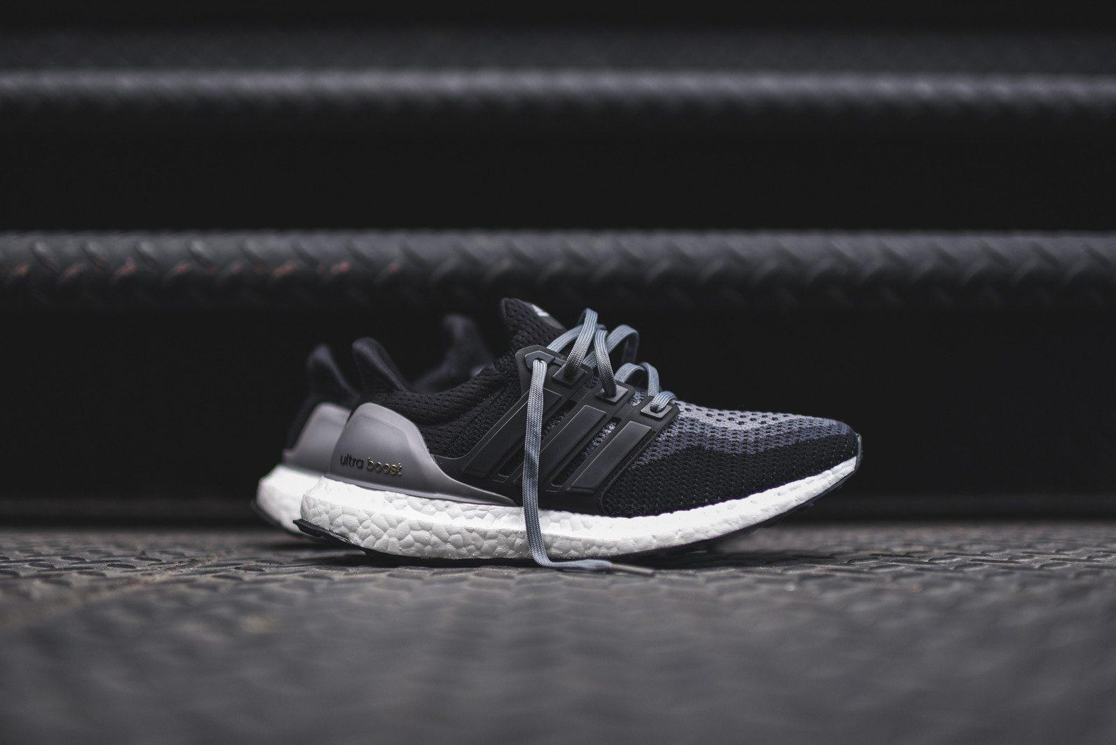 adidas Ultra Boost Black Grey 1