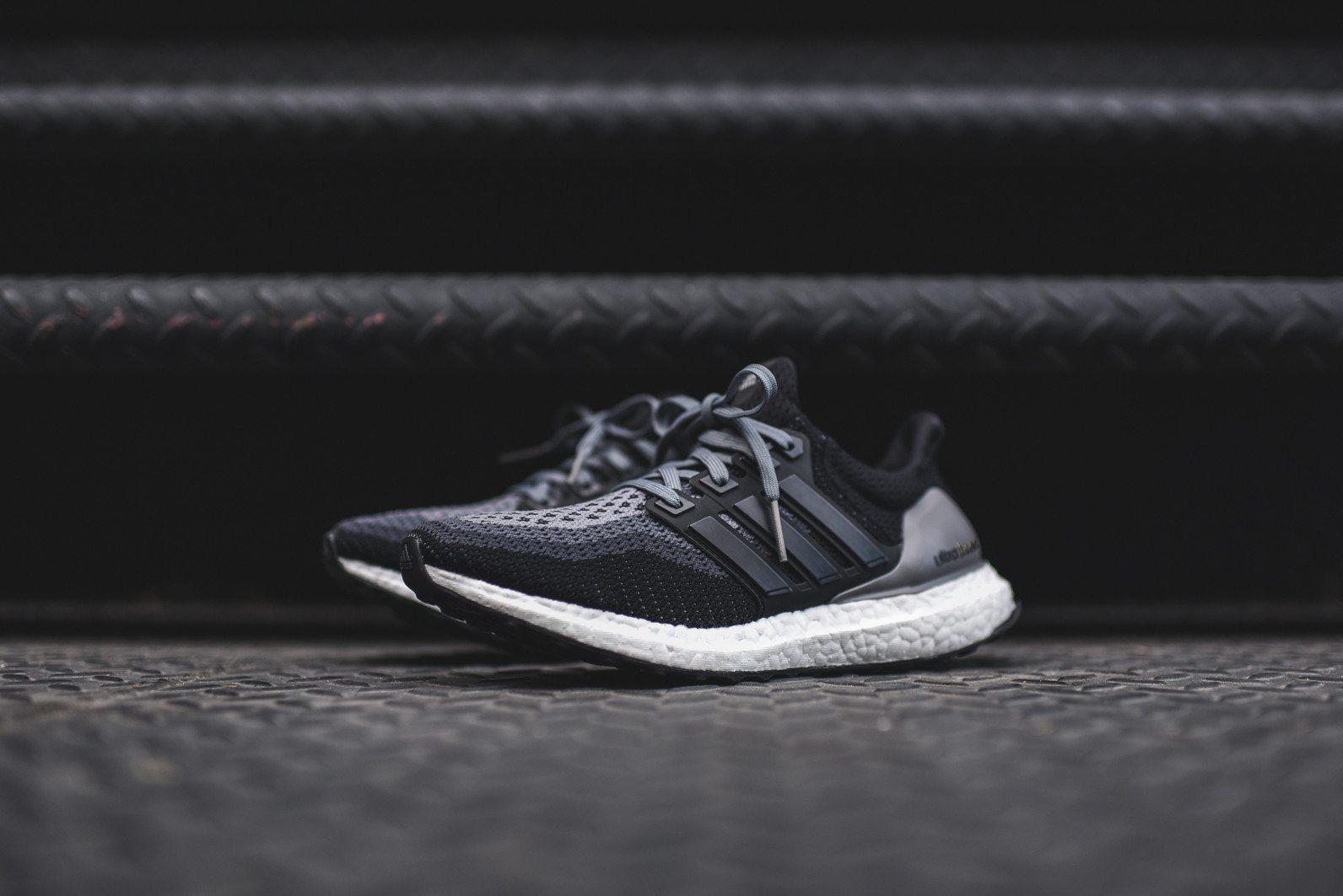 adidas Ultra Boost Black Grey 2