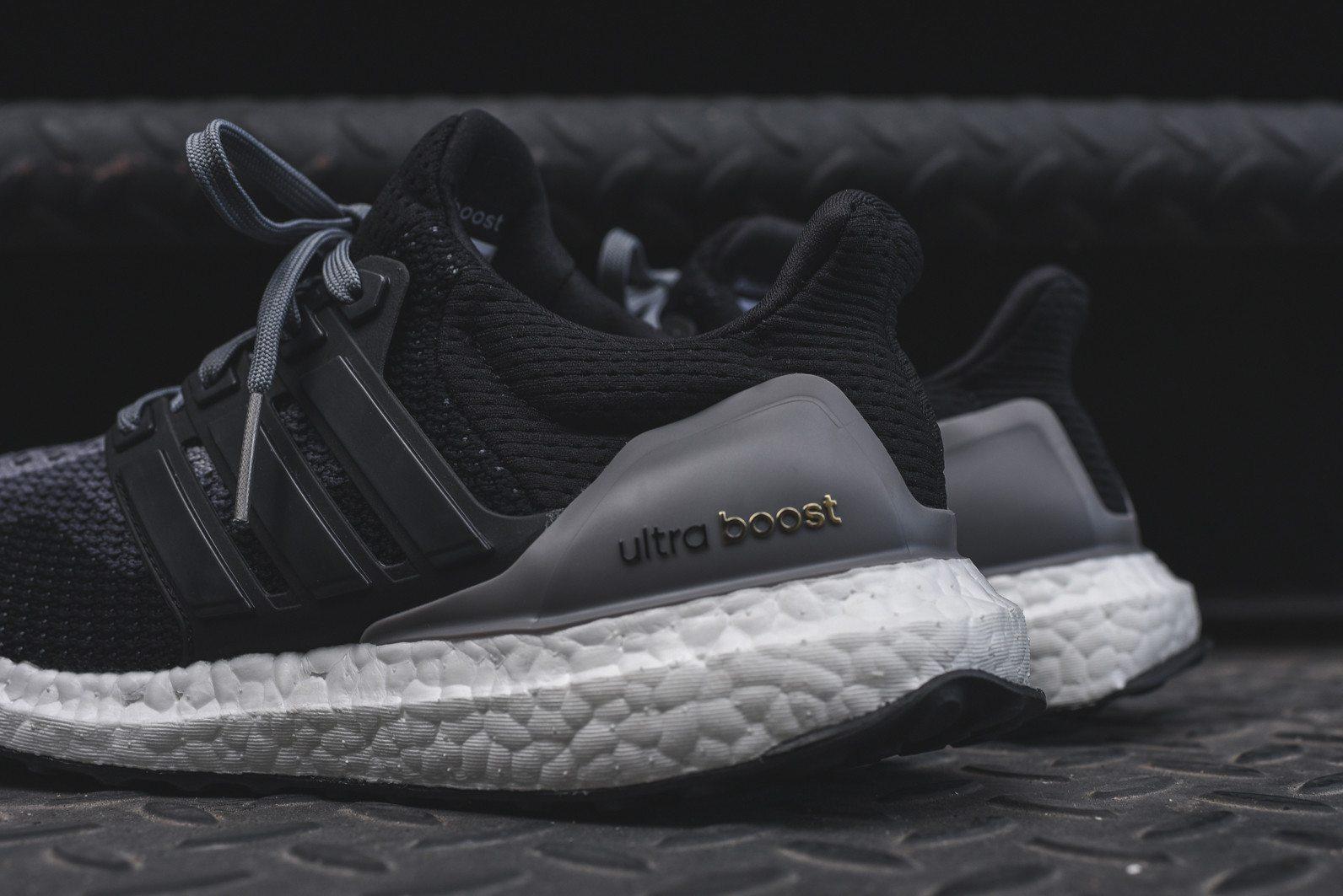 adidas Ultra Boost Black Grey 6