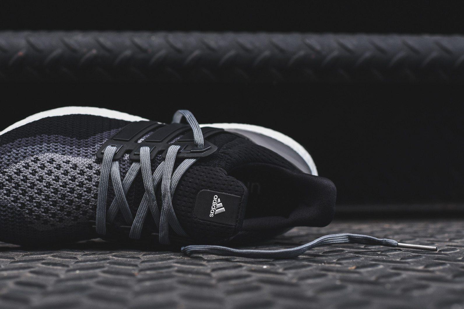 adidas Ultra Boost Black Grey 7