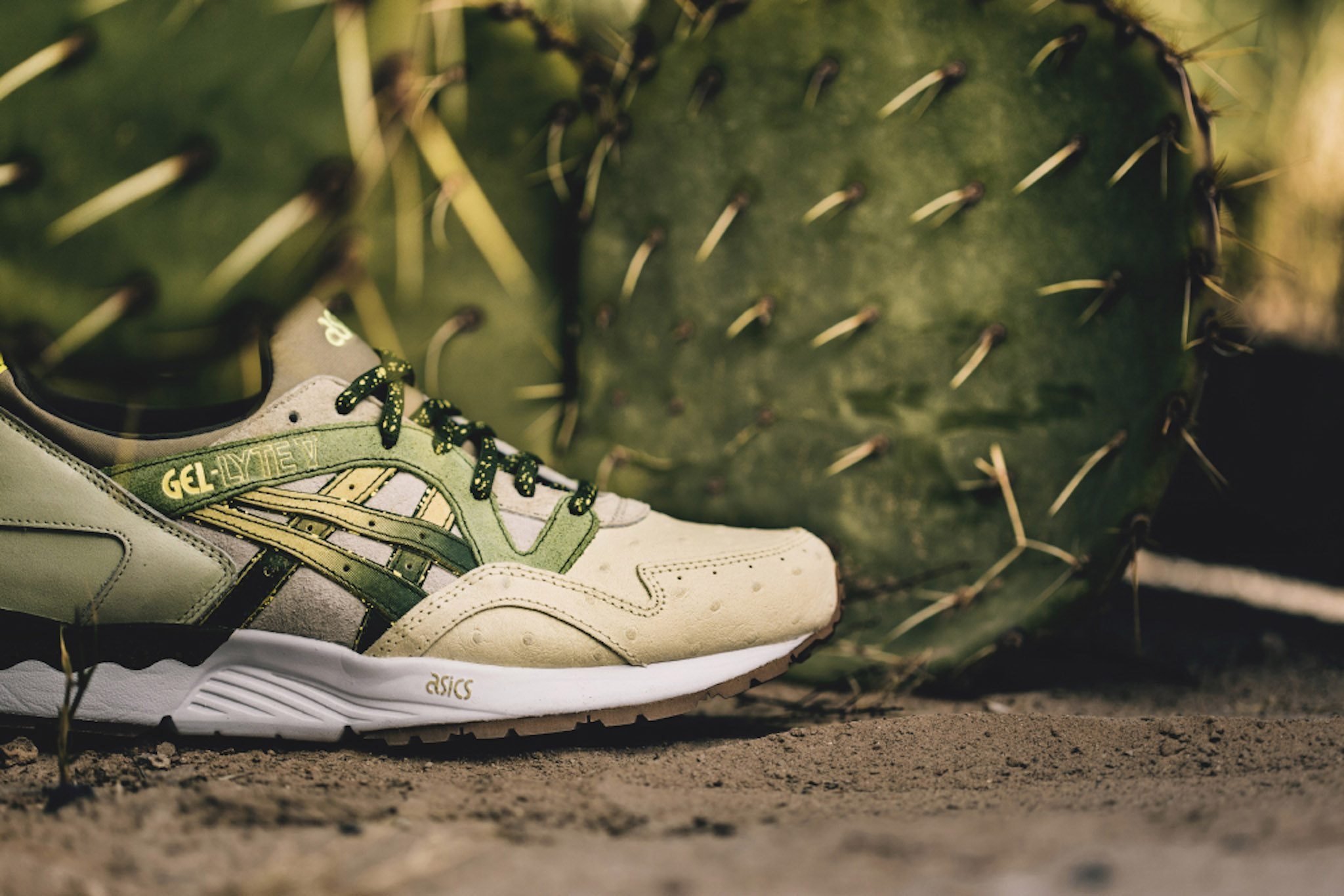 Feature x ASICS Gel Lyte V Prickly Pear 1