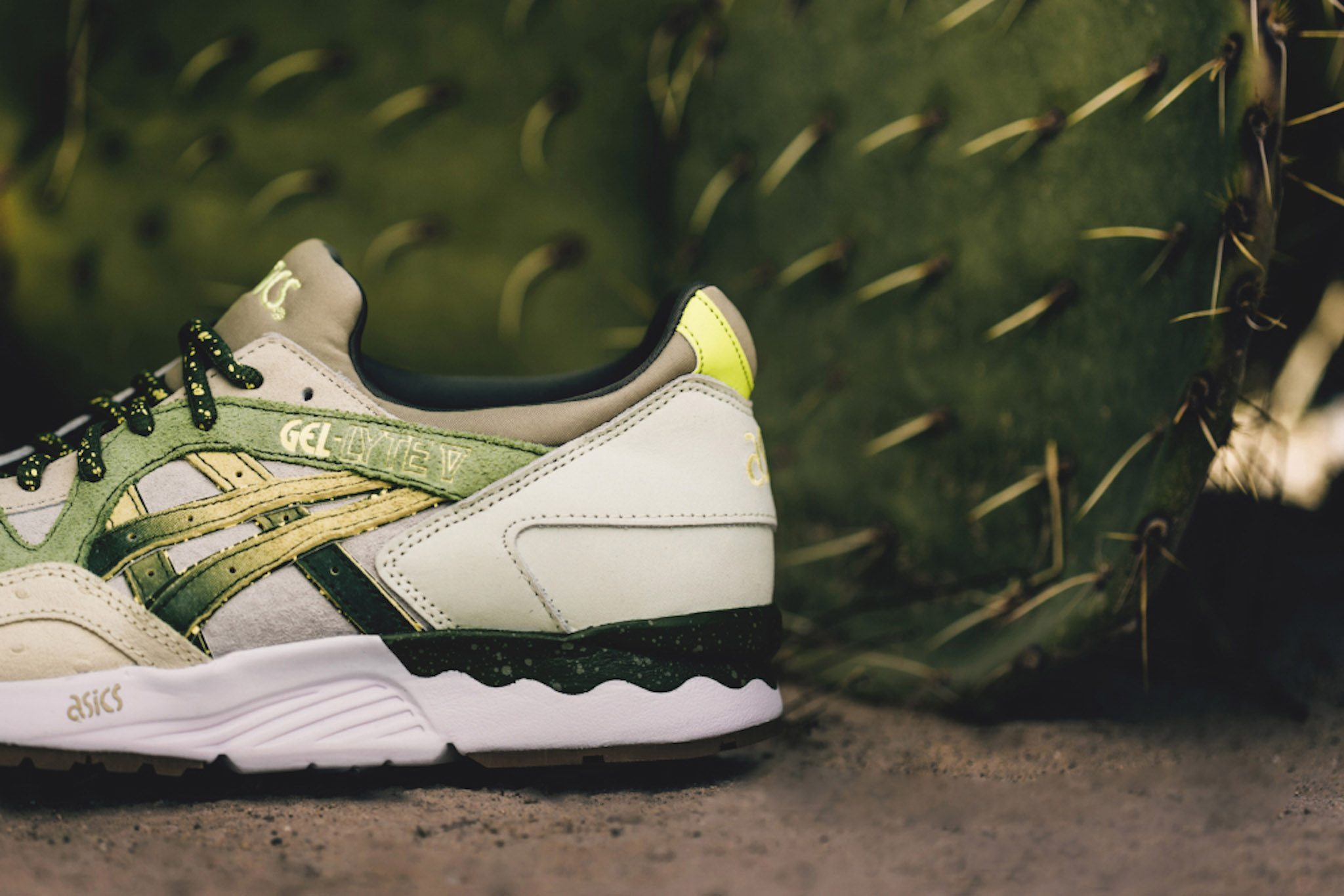 Feature x ASICS Gel Lyte V Prickly Pear 4