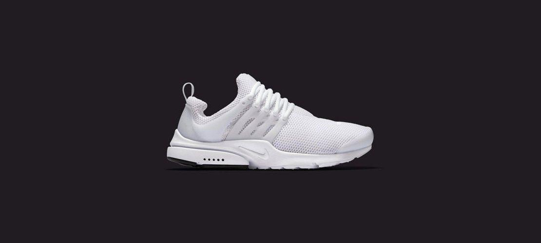 Nike Air Presto All White 1110x500