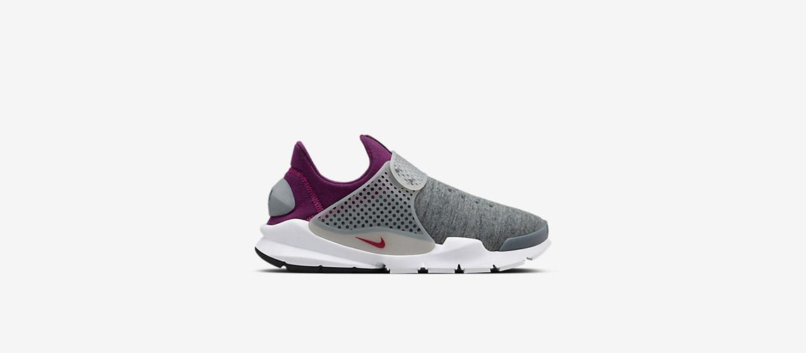 NikeLab Sock Dart Fleece Gray