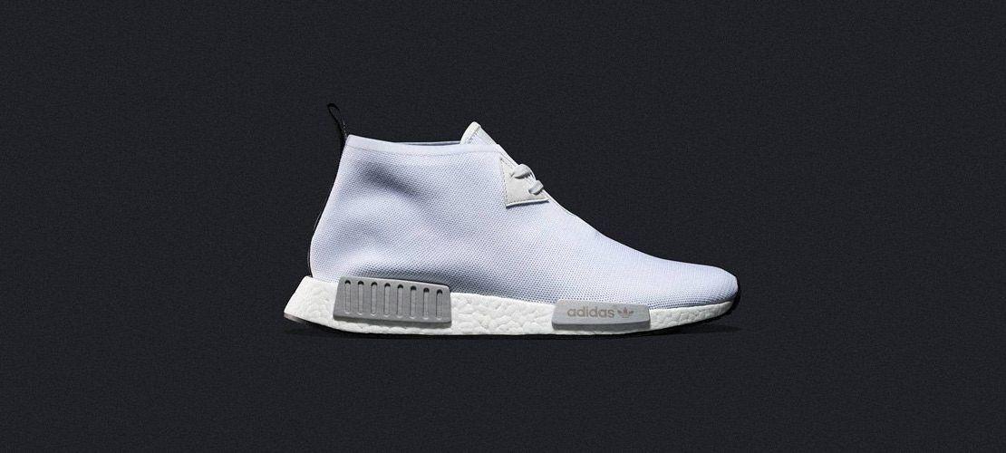 adidas NMD C1 Chukka All White 1110x500