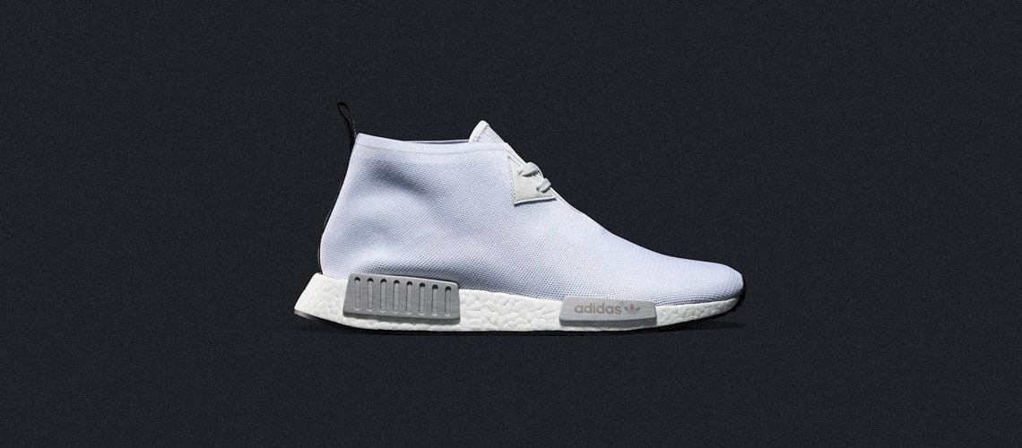 adidas NMD C1 Chukka All White