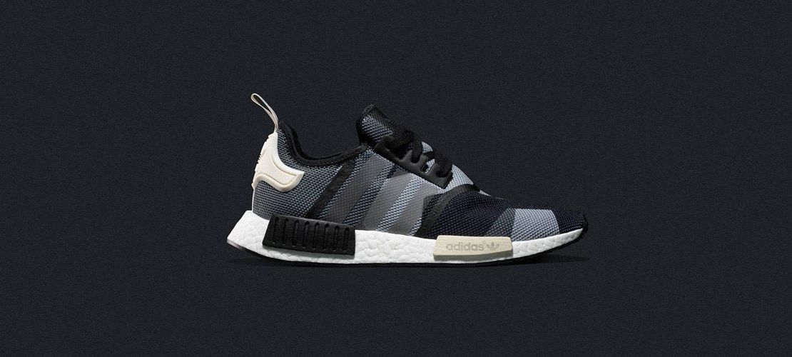adidas NMD R1 Black Grey 1110x500
