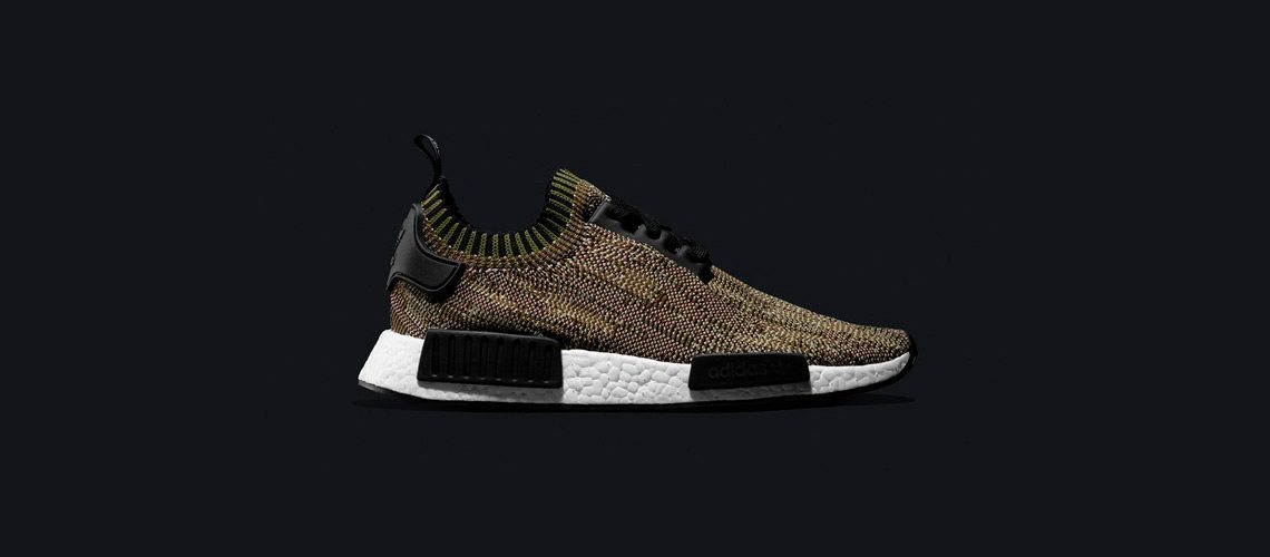 adidas NMD R1 Primeknit Camo Pack Olive