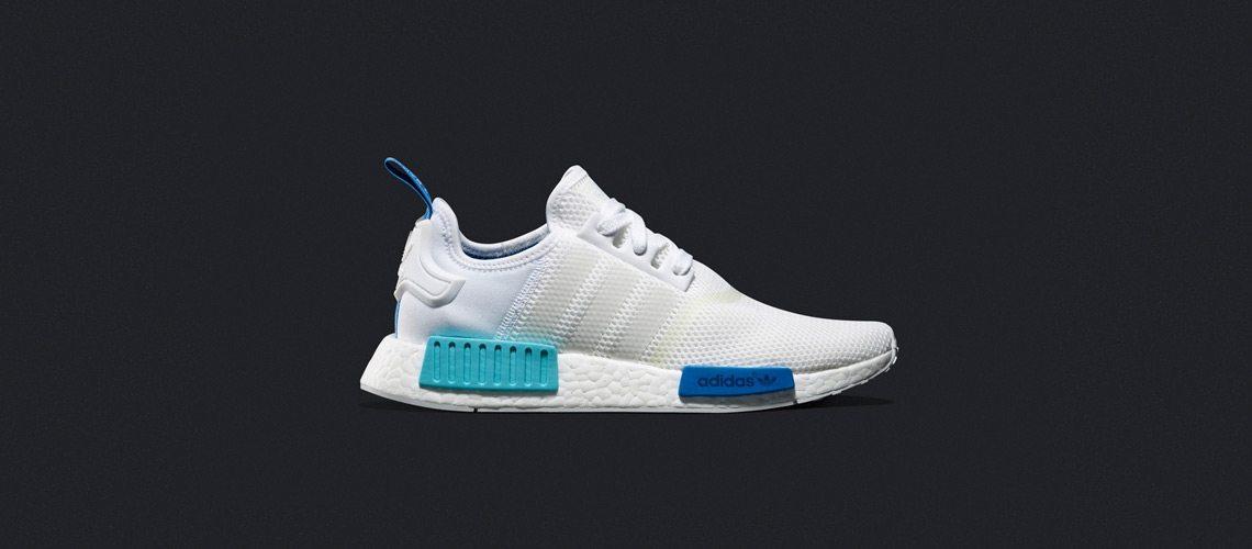 adidas WMNS NMD R1 White Blue Glow 1