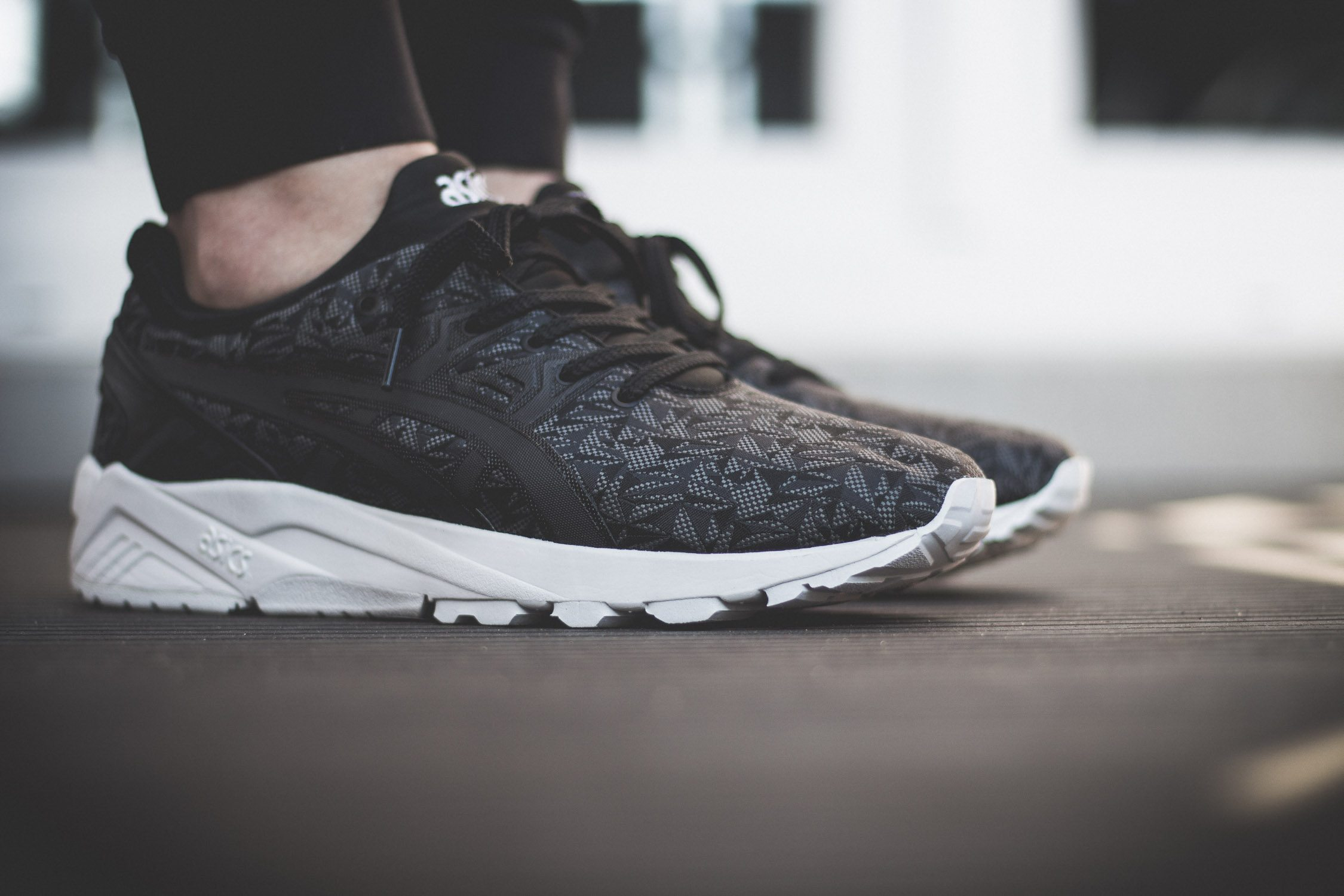 ASICS Tiger Gel Kayano Evo Origami On Feet 4
