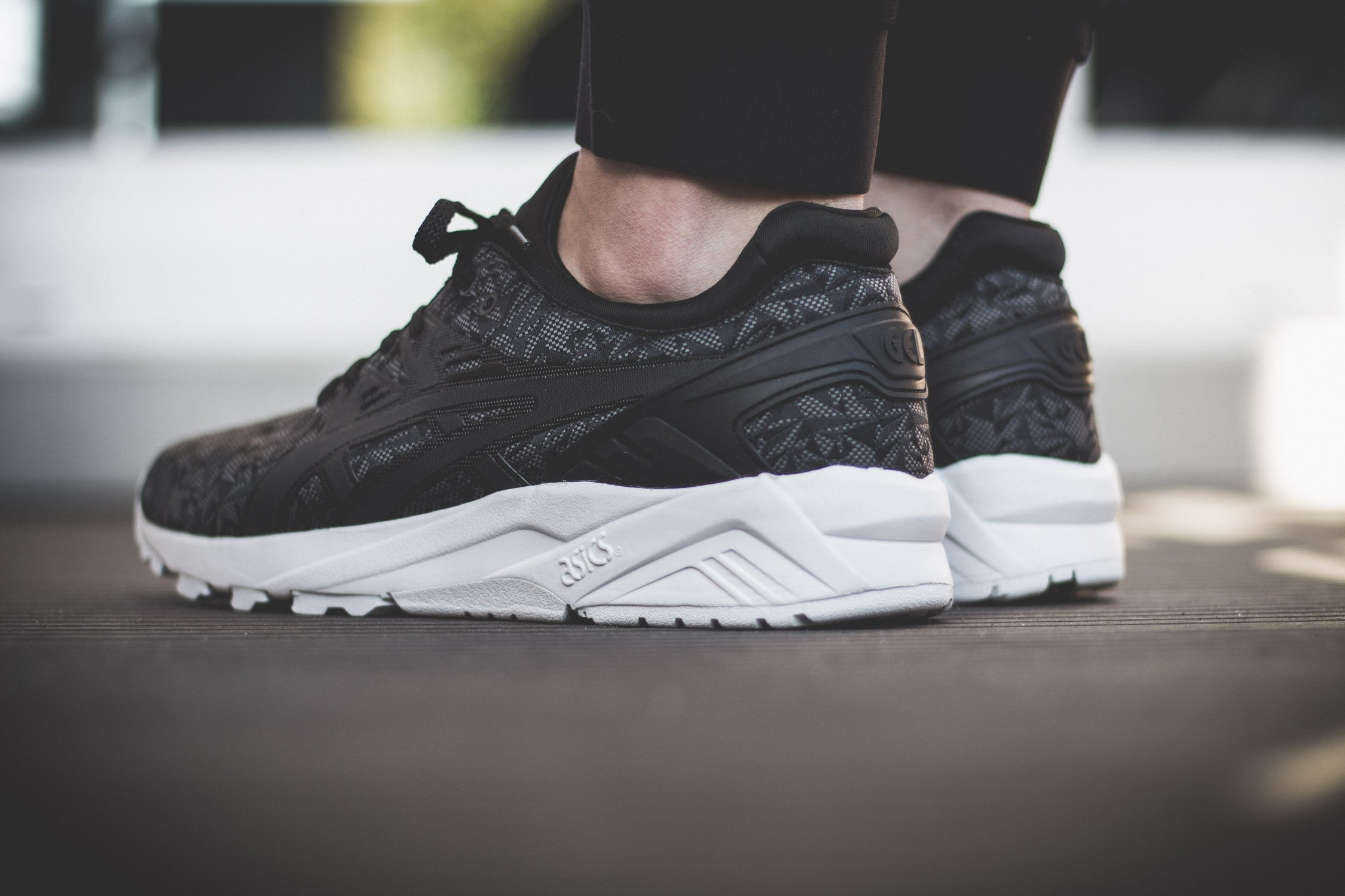 ASICS Tiger Gel Kayano Evo Origami On Feet 8
