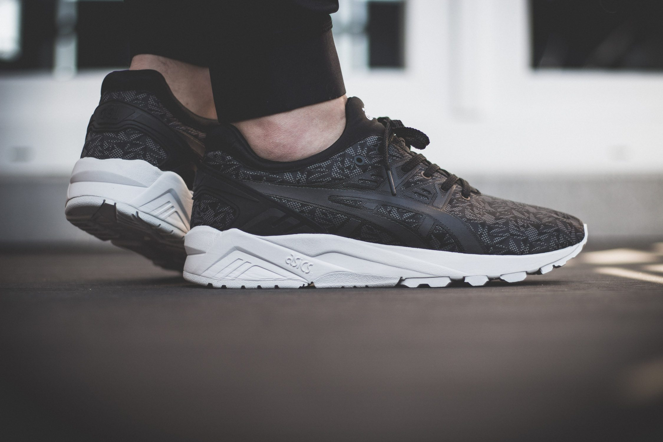 ASICS Tiger Gel Kayano Evo Origami On Feet 9