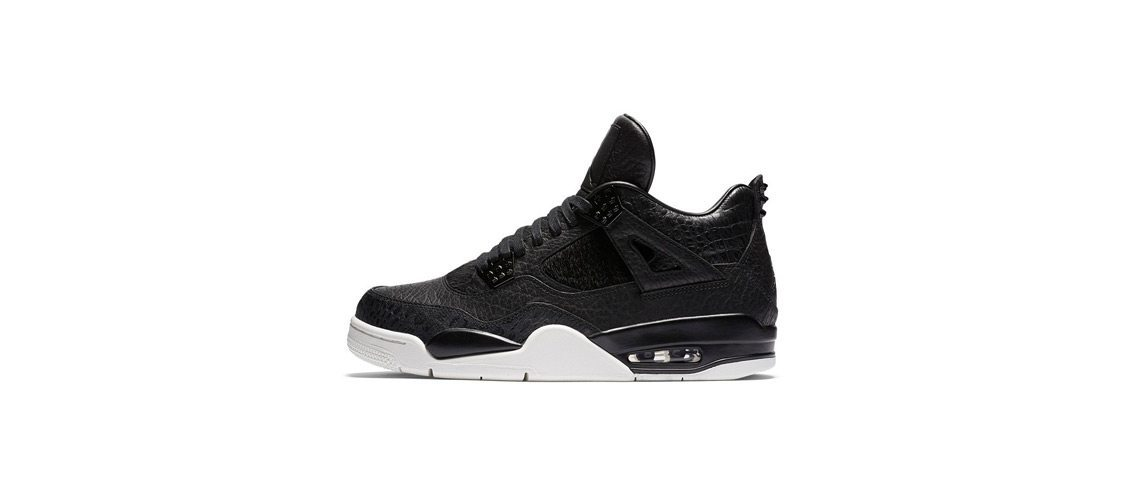 Air Jordan 4 Black Pinnacle