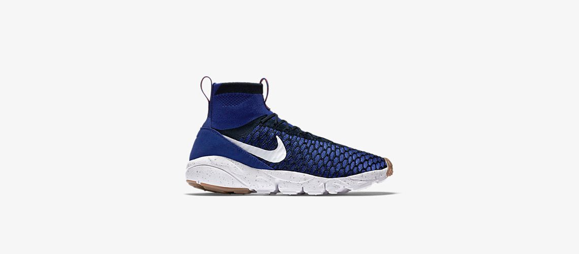 Nike Air Footscape Magista Flyknit Blue 1