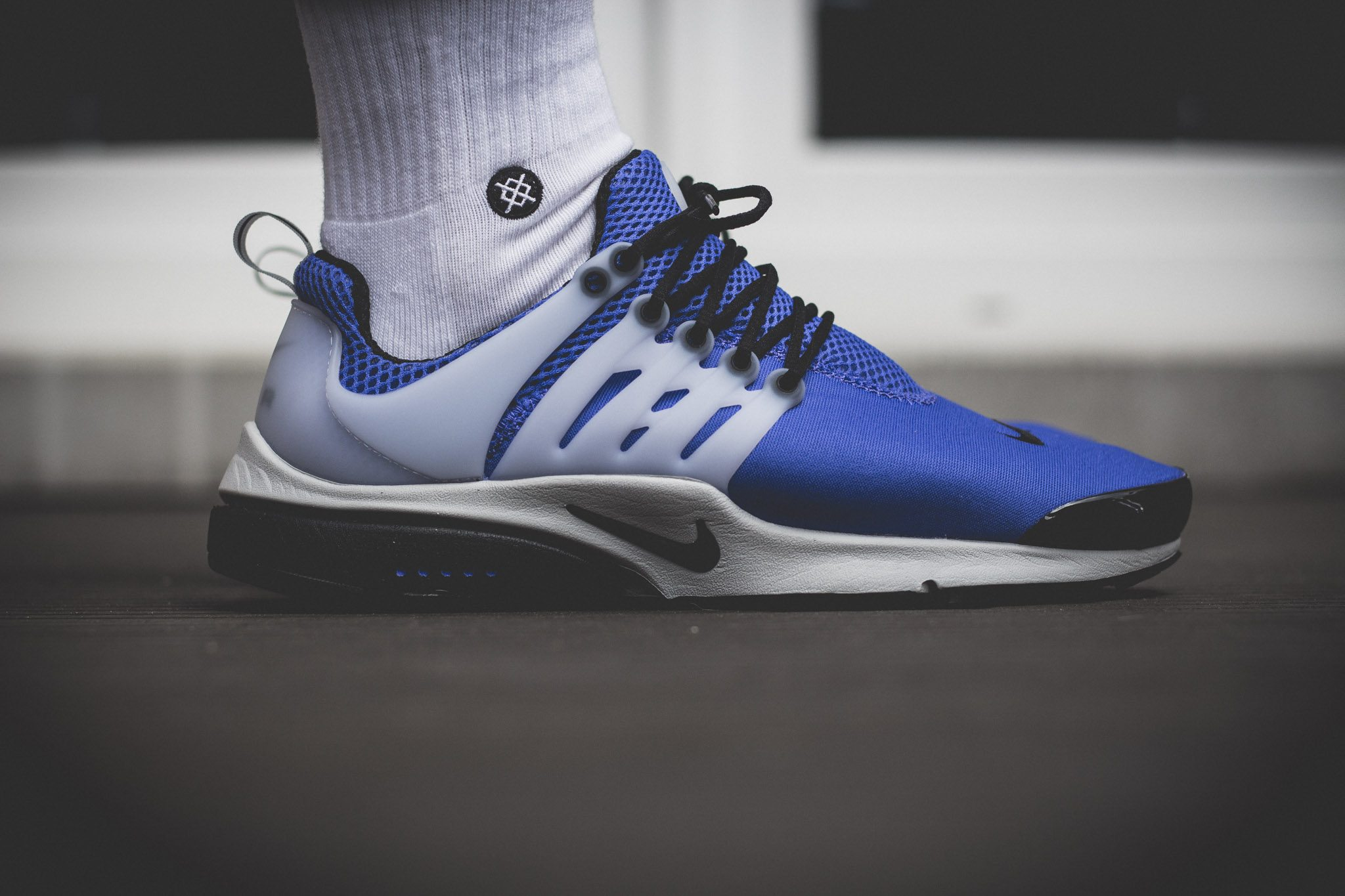 Nike Air Presto Camo On Feet