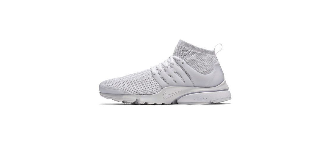 Nike Air Presto Ultra Flyknit All White 1110x500