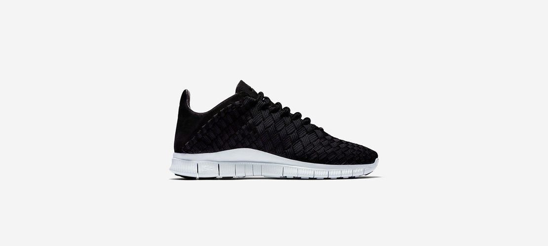 Nike Free Inneva Woven Black 1110x500