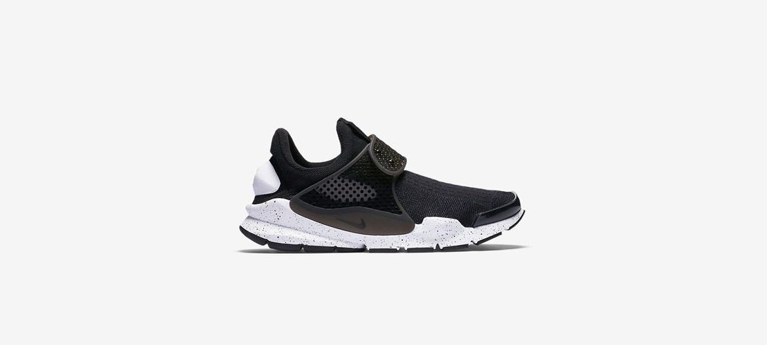 Nike Sock Dart SE Black White 1110x500