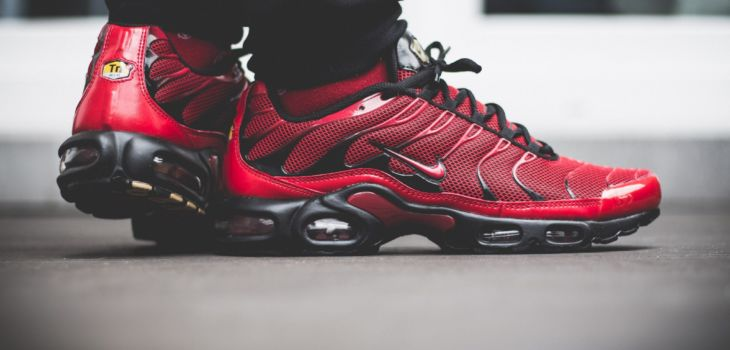 Nike Tuned 1 Red On Feet 10 730x350