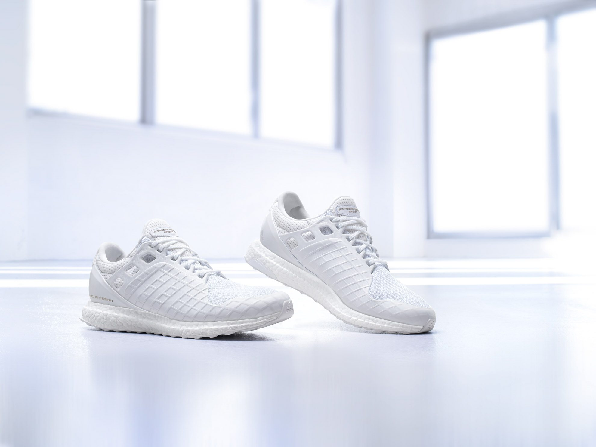 Porsche x adidas Ultra Boost All White 1