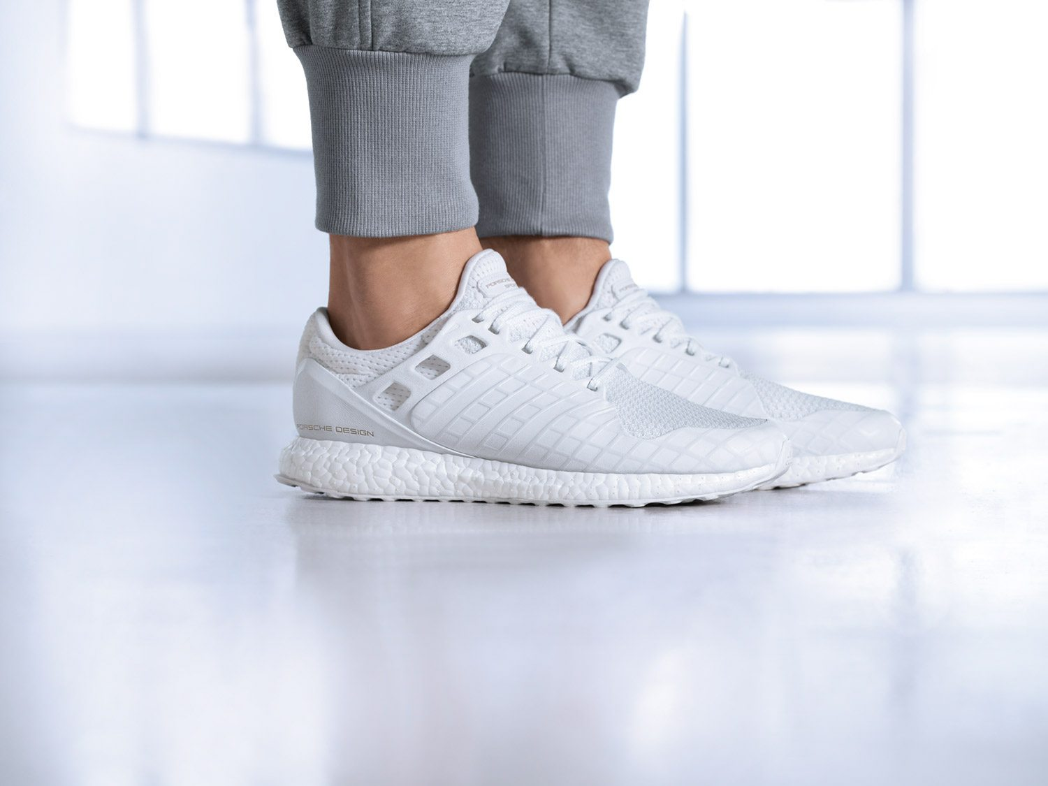 Porsche x adidas Ultra Boost All White 4