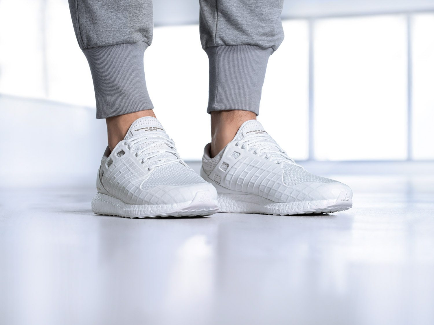 Porsche x adidas Ultra Boost All White 5