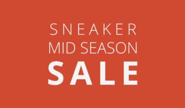 Sneaker – Mid Season Sale 2016