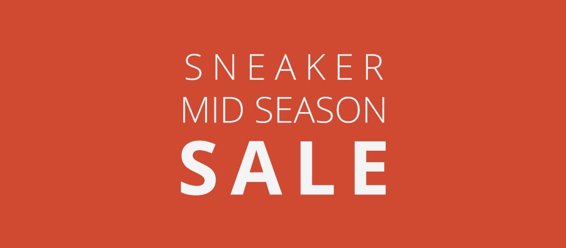 sneaker mid season sale 2016