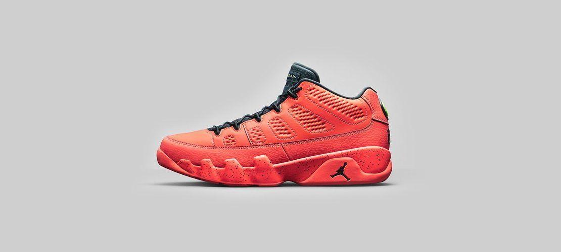 Air Jordan 9 Retro Low Bright Mango 1110x500