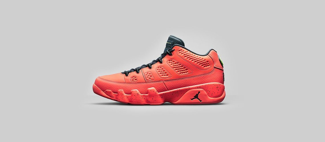 Air Jordan 9 Retro Low Bright Mango