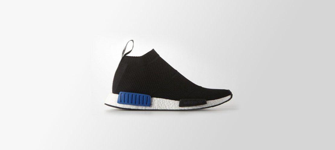 adidas NMD City Sock PK Black Blue 1110x500